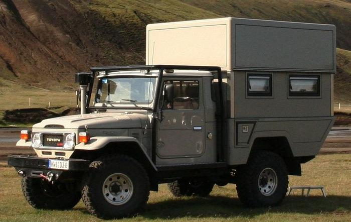 Land Cruiser camper